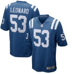 Nike Darius Leonard Indianapolis Colts Royal Player Game Jersey