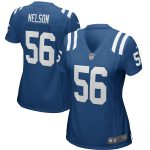 Nike Quenton Nelson Indianapolis Colts Women's Royal Game Jersey