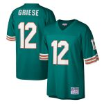 Mitchell & Ness Bob Griese Miami Dolphins Aqua Legacy Replica Jersey