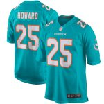 Nike Xavien Howard Miami Dolphins Aqua Player Game Jersey