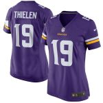 Nike Adam Thielen Minnesota Vikings Women's Purple Game Jersey