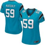 Nike Luke Kuechly Carolina Panthers Women's Panther Blue Game Jersey