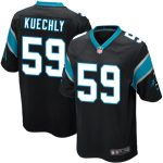 Nike Luke Kuechly Carolina Panthers Youth Black Team Color Game Jersey
