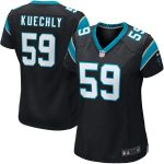 Nike Luke Kuechly Carolina Panthers Women's Black Game Jersey