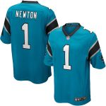 Nike Cam Newton Carolina Panthers Blue Alternate Game Jersey