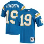 Mitchell & Ness San Diego Chargers Lance Alworth Powder Blue Authentic Retired Player Jersey
