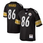 Mitchell & Ness Hines Ward Pittsburgh Steelers Black Legacy Replica Jersey