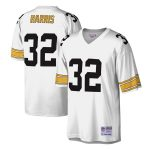 Mitchell & Ness Franco Harris Pittsburgh Steelers White Legacy Replica Jersey