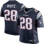 Nike James White New England Patriots Navy Game Jersey