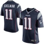 Nike Julian Edelman New England Patriots Navy Blue Game Jersey