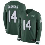 Nike Sam Darnold New York Jets Green Therma Long Sleeve Player Jersey