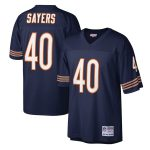Mitchell & Ness Gale Sayers Chicago Bears Navy Legacy Replica Jersey
