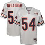 Mitchell & Ness Brian Urlacher Chicago Bears Youth Platinum 100th Season Retired Player Legacy Jersey
