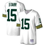 Mitchell & Ness Bart Starr Green Bay Packers White Legacy Replica Jersey