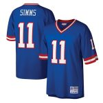 Mitchell & Ness Phil Simms New York Giants Royal Legacy Replica Jersey