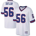 Mitchell & Ness Lawrence Taylor New York Giants White Legacy Replica Jersey