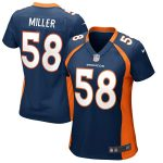 Nike Von Miller Denver Broncos Women's Navy Blue Game Jersey