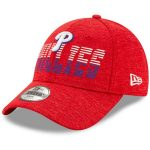 New Era Philadelphia Phillies Youth Red Flash 9FORTY Adjustable Hat