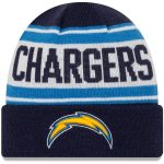New Era Los Angeles Chargers Preschool Navy/White Stated Cuffed Knit Hat