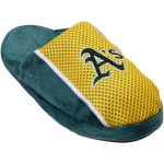 Oakland Athletics Youth Jersey Slippers