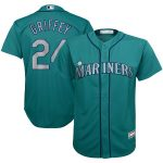 Ken Griffey Jr. Seattle Mariners Youth Aqua Player Replica Jersey