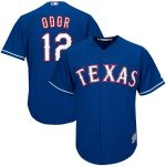 Majestic Rougned Odor Texas Rangers Royal Alternate Official Cool Base Replica Player Jersey