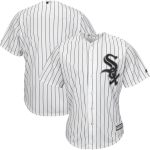 Majestic Chicago White Sox White Official Cool Base Jersey