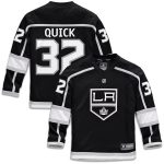 Fanatics Branded Jonathan Quick Los Angeles Kings Youth Black Replica Player Jersey