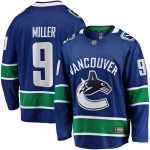 Fanatics Branded JT Miller Vancouver Canucks Blue Breakaway Team Color Player Jersey
