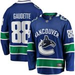 Fanatics Branded Adam Gaudette Vancouver Canucks Blue Breakaway Team Color Player Jersey