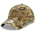 New Era Cleveland Indians Camo Tonal Logo Core Classic 9TWENTY Adjustable Hat