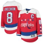 Alexander Ovechkin Washington Capitals Youth Red 2019/20 Alternate Premier Player Jersey