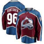 Fanatics Branded Mikko Rantanen Colorado Avalanche Burgundy Home Premier Breakaway Player Jersey