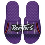 ISlide Toronto Raptors Purple Hardwood Classic Jersey Slide Sandals