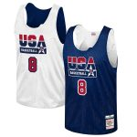 Mitchell & Ness Scottie Pippen USA Basketball Navy Training 1992 Dream Team Authentic Reversible Practice Jersey