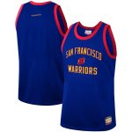 Mitchell & Ness Golden State Warriors Royal Team Heritage Fashion Jersey