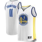 Fanatics Branded Klay Thompson Golden State Warriors Youth White Fast Break Player Replica Jersey - Association Edition