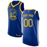 Nike Golden State Warriors Royal Custom Authentic Jersey - Icon Edition