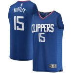 Fanatics Branded Johnathan Motley LA Clippers Youth Royal Fast Break Replica Jersey - Icon Edition