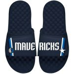 Dallas Mavericks ISlide Youth Navy Statement Jersey Slide Sandals