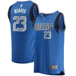 Fanatics Branded Josh Reaves Dallas Mavericks Youth Blue Fast Break Replica Player Jersey - Icon Edition
