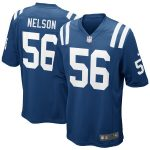 Nike Quenton Nelson Indianapolis Colts Royal Game Jersey