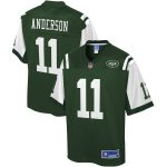NFL Pro Line Robby Anderson New York Jets Green Big & Tall Player Jersey