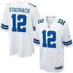 Nike Roger Staubach Dallas Cowboys Youth White Retired Game Jersey