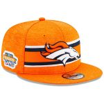 New Era Denver Broncos Orange 2019 Thanksgiving Sideline 9FIFTY Snapback Adjustable Hat