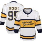 Matt Duchene Nashville Predators Youth White 2020 Winter Classic Replica Player Jersey