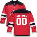 Fanatics Branded New Jersey Devils Youth Red Home Replica Custom Jersey