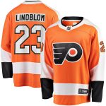 Fanatics Branded Oskar Lindblom Philadelphia Flyers Orange Team Color Breakaway Player Jersey