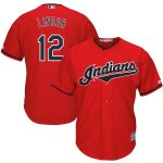 Majestic Francisco Lindor Cleveland Indians Scarlet Alternate 2019 Cool Base Player Jersey