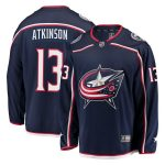 Fanatics Branded Cam Atkinson Columbus Blue Jackets Navy Home Premier Breakaway Player Jersey
